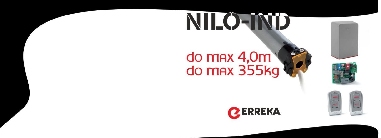 Motor za rolete Erreka Nilo-Ind