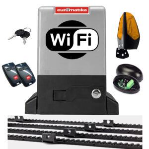 Kit za klizna dvorišna vrata Euromatika WiFi800