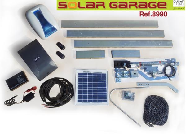 Solarni kit za klizna garažna vrata Ducati 8990 SOLAR